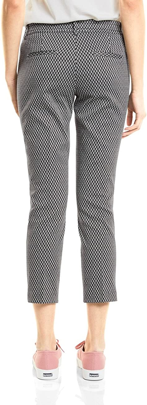 Street One 371315 Jacky, Pantalon Femme Multicolore (Black 20001)