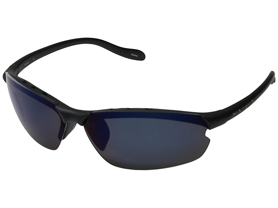 Native Eyewear Dash XPtm (Asphalt/Blue Reflex (Gray) Lens) Sport Sunglasses