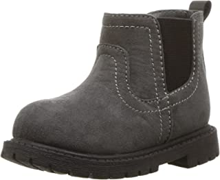 Carter's Kids Boy's Cooper3 Grey Chelsea Boot Fashion