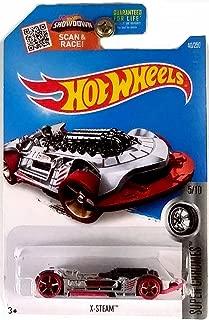 Hot Wheels, 2016 Super Chromes, X-Steam [Chrome] #40/250