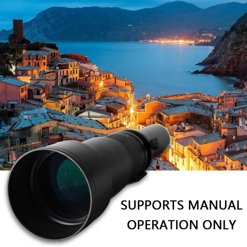 1300mm Teleobjektiv Kamera,650-1300mm F8-16 Teleobjektiv Super ...