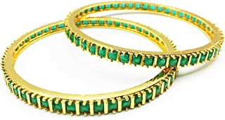 Classiques Gold Plated Traditional Wear Bangles