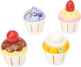 Le Toy Van TV331 rollspelsset av trä, cupcakes