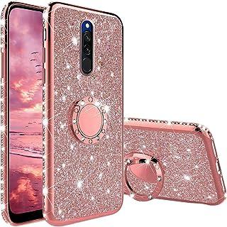 CUSTODIA per xiaomi REDMI NOTE 7 / PRO Cover SHINE Glitter Brillantini Strass