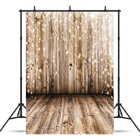 7x7FT Vinyl Photography Backdrop,Rustic,Sunset Ocean Twilight Photo Background for Photo Booth Studio Props