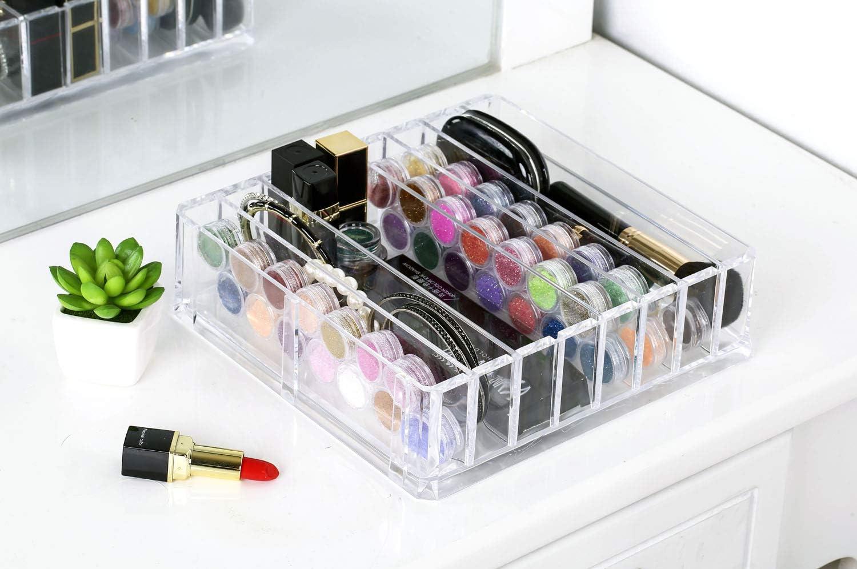 Detroit Mall ABO Gear Acrylic Makeup Holder Organizer Palette New sales