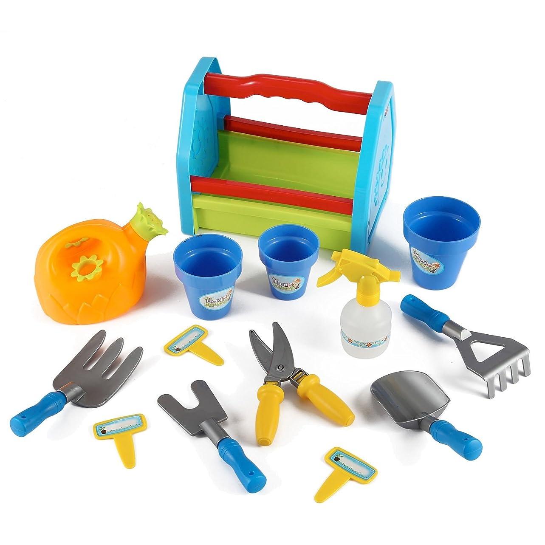 バッチ病者雑種AZ Trading & Import PS391 Garden Tools Toy Set