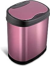 Nine Stars Motion Sensor Trash Can, 3.2 gallon, Purple