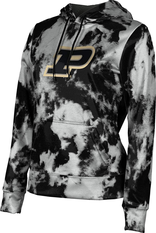 ProSphere Purdue University Girls' Pullover Hoodie, School Spirit Sweatshirt (Grunge)