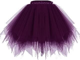 PrePretty Women 50s Short Vintage Tulle Petticoat Skirt Ballet Bubble Tutu