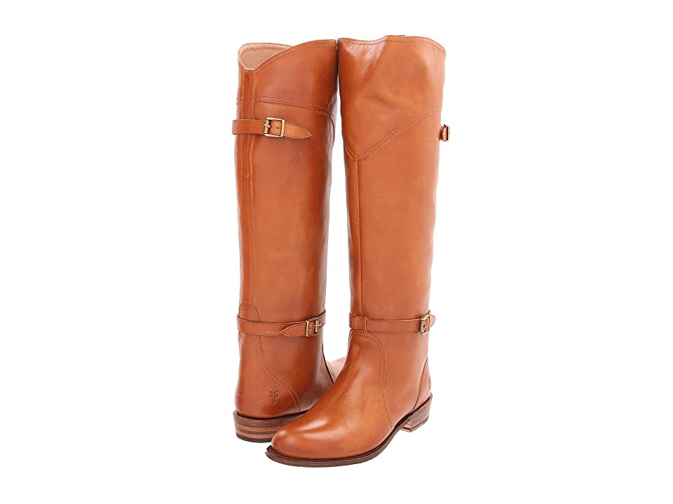 Frye Dorado Riding (Cognac Full Grain Brush Off) Women