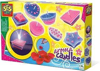 SES Creative świece zapachowe samodzielnie odlewane SES 14925 Making Scented Candles, wielokolorowe