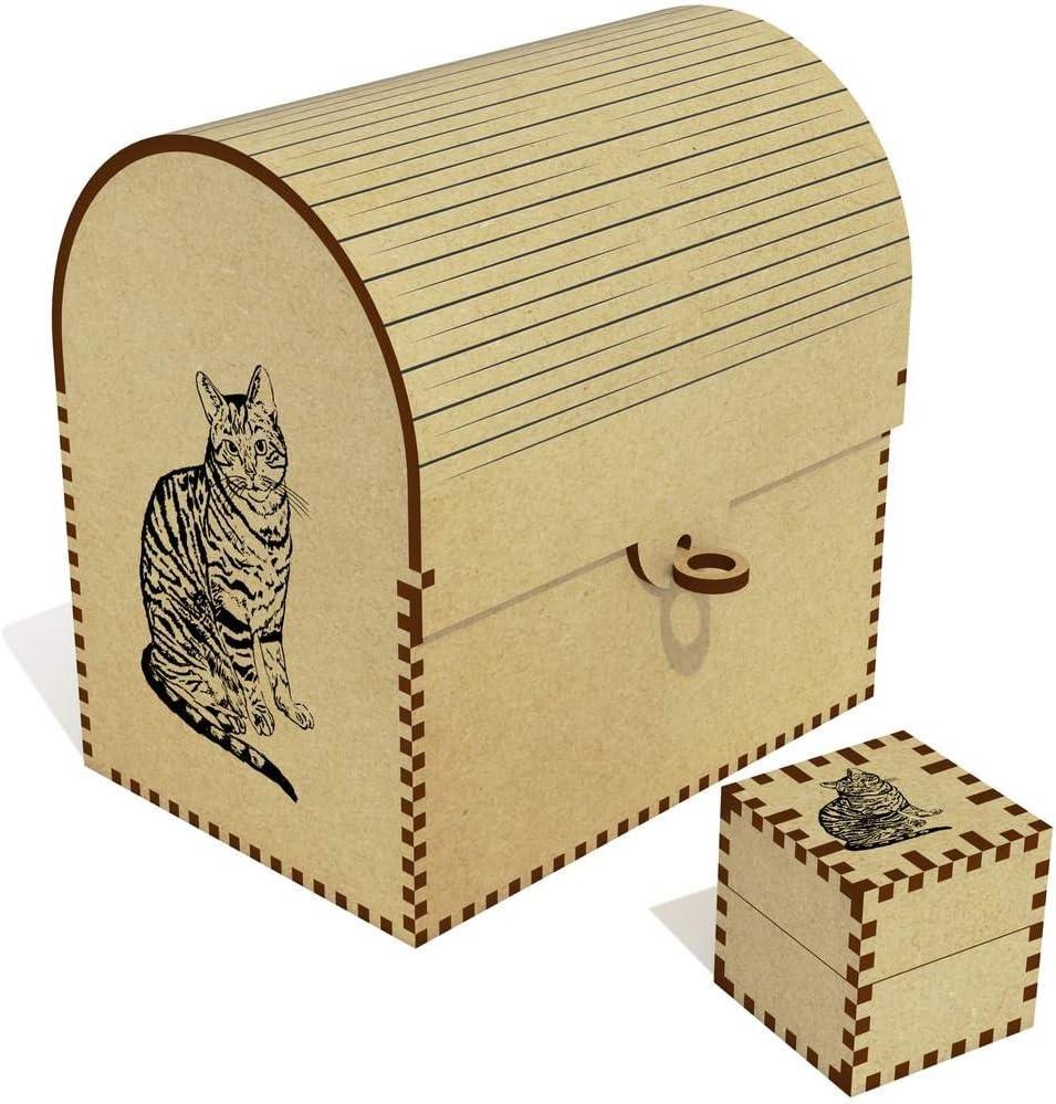 Azeeda 'Tabby Cat' Treasure Jewellery TC00006413 Box Chest Austin Mall San Antonio Mall