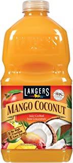 Langers Juice, Mango Coconut Cocktail, 64 Ounce (Pack of 8)