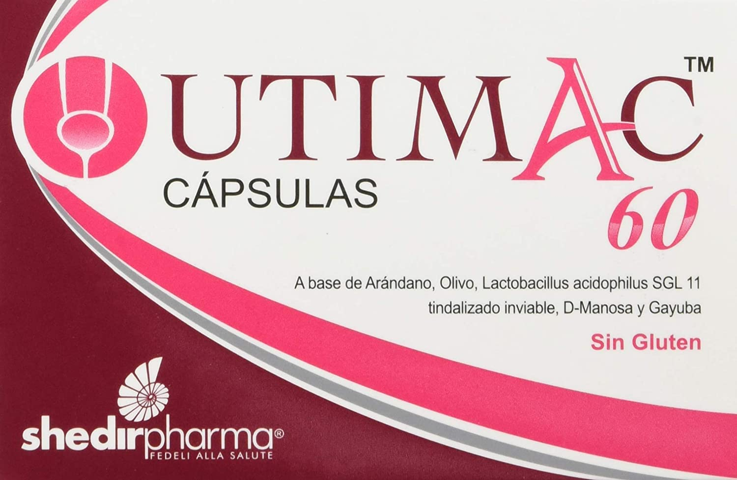 High material UTIMAC 60-14 Caps - Supports Tract Award Boost Urinary Health