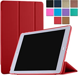 DuraSafe Cases for iPad PRO 12.9 Inch 2 Gen - 2017 [ A1670 A1671 ] Smart Cover - Red (UltraSlim)