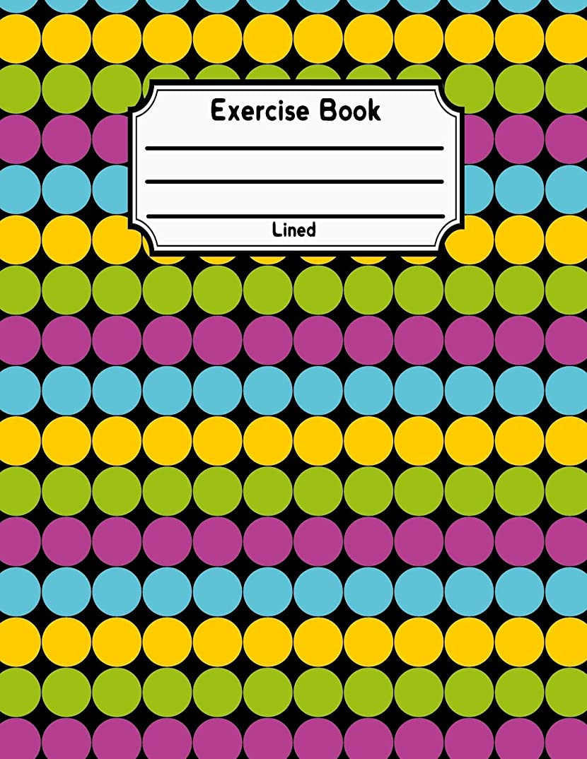 シリンダー一元に戻すExercise Book Lined: Back To School Notebook V23