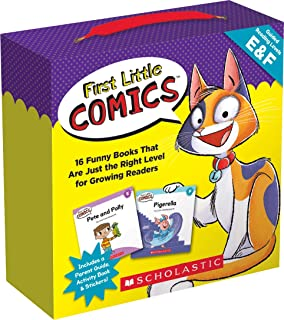 First Little Comics Guided Reaging Levels E & F