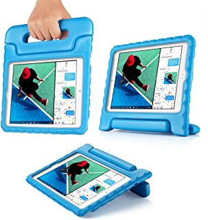 TNP iPad 2018 2017 9.7 inch Case - Kids Friendly Light Weight Shock Proof Shock Proof Impact Drop Resistant Protective Convertible Stand Cover for Apple iPad 9.7