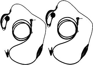 Prise Jack 2,5 mm Oreillette de s/écurit/é en Forme de D pour Radio Uniden