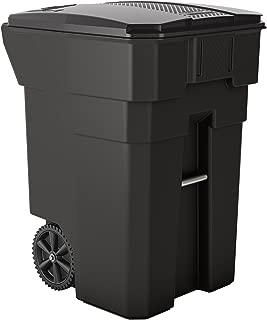 Suncast Commercial BMTCW96 Wheeled Trash Can, 43.75