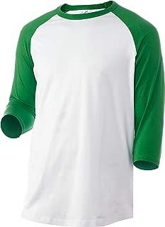 teal raglan shirt