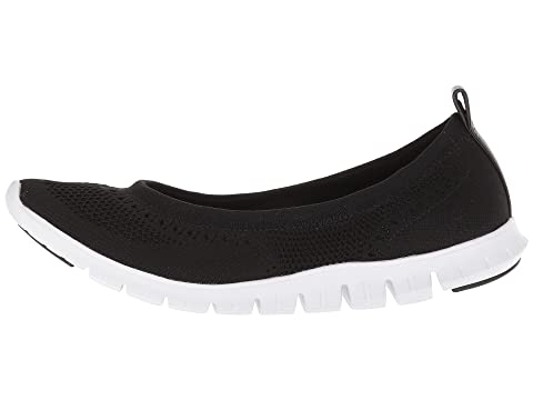 Cole Haan Zerogrand Stitchlite Ballet Black Knit/Optic White Sale Cheap Prices 100% Original For Sale Sale Brand New Unisex LPaneZ