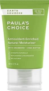 paula's choice earth sourced moisturizer