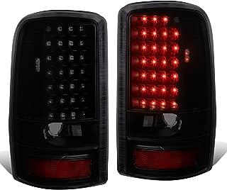 For Yukon/Suburban/Tahoe GMT 800 Pair of Black Housing Smoked Lens LED Brake Tail Lights