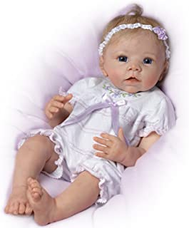 The Ashton - Drake Galleries Touch-Activated Lifelike Moving Baby Doll By Linda Murray: Chloe's Look Of Love