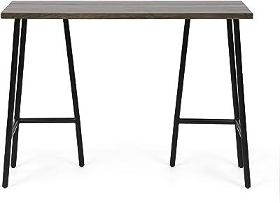 Christopher Knight Home Darke Desk, Black + Brown Wash