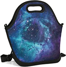 JECIA HOLDER Lunch Tote Insulated Reusable Picnic Lunch Bags Boxes Galaxy Clipart Lunchbox for School Work Office