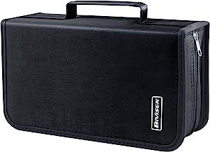 دارنده کیف / CD دی وی دی Bivisen ، کیف پول رسانه ای 128 ظرفیت CD VCD ، ذخیره سازی ، نگهدارنده ، جزوه ، برنامه ساز (نقره ای)