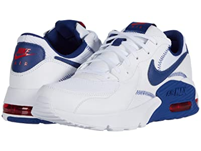 Nike Air Max Excee (White/Deep Royal/University Red) Men
