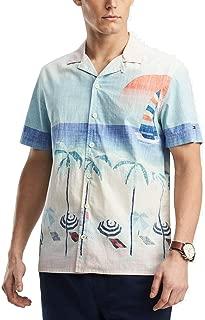 Tommy Hilfiger Men's Beach-Print Shirt