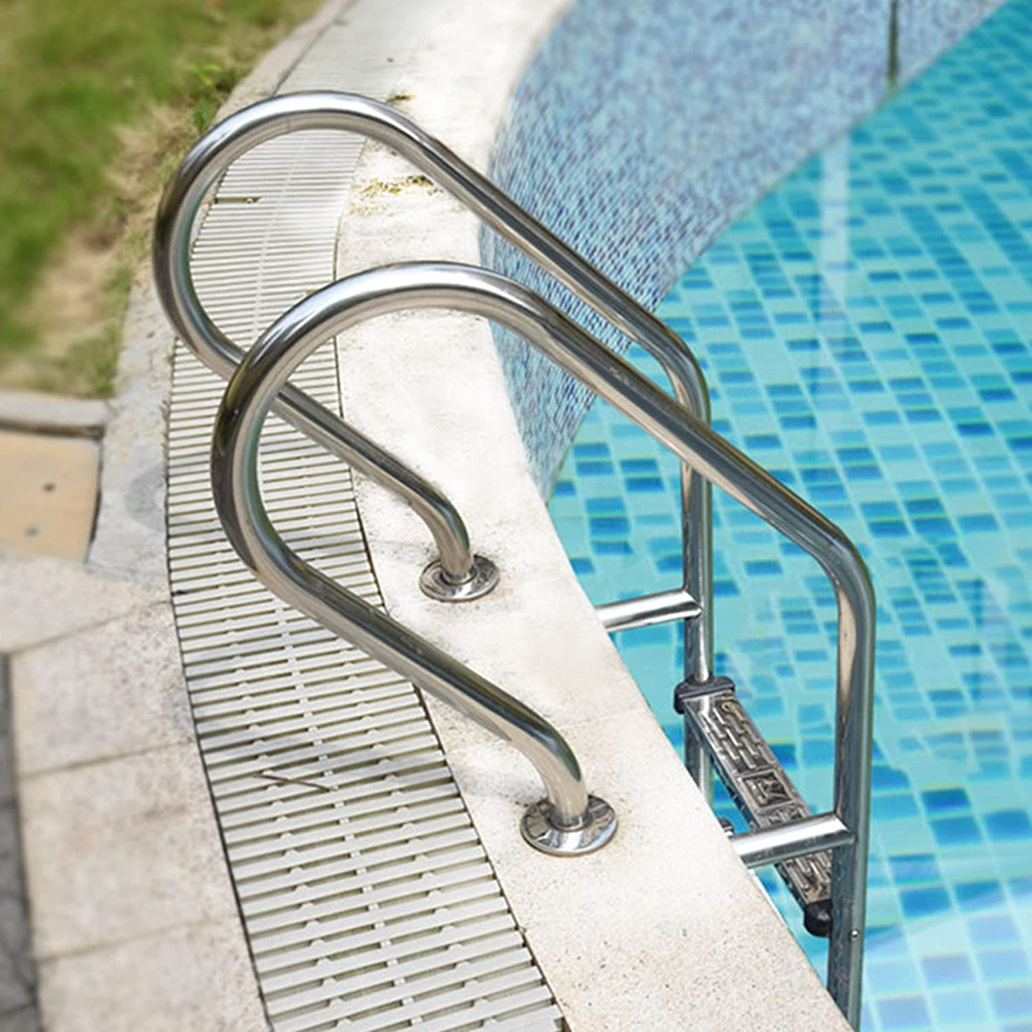 Pool Rare Hand Railing 2‑Step Ladder S All items in the store Steel 304 Stainless