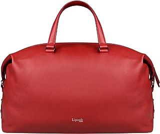 Lipault - Plume Elegance Weekend Bag - Top Handle Shoulder Overnight Travel Duffel Luggage for Women - Ruby