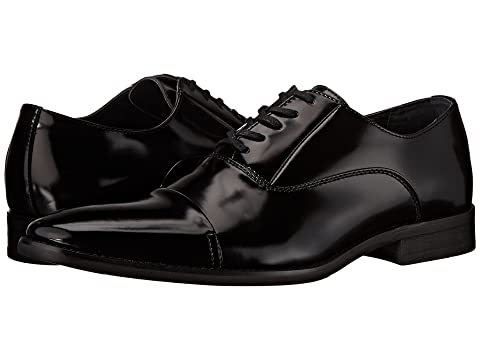 Mens Shoes Calvin Klein Hadyn Black Box Smooth