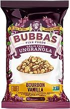 غذاهای خوب Bubba's Single-Granve، Bourbon Vanilla (بسته 8)   بدون دانه ، بدون گلوتن ، وگان ، سرخپوشان ، لبنیات بدون مجوز و بدون مجوز
