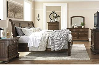 Amazing Buys Flynnter Bedroom Set by Ashley Furniture - Includes California King, Dresser, Mirror and 1 Night Stand