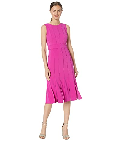 Badgley Mischka Carwash Vacation Dress (Magenta) Women