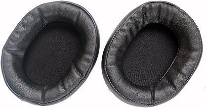 Ear Pad Earpads Repair Leather Earmuff Cushion Repair Parts for Audio Technica ATH-WS1100 ATH-WS1100is Headphones(earmuffes) Headset (Black)