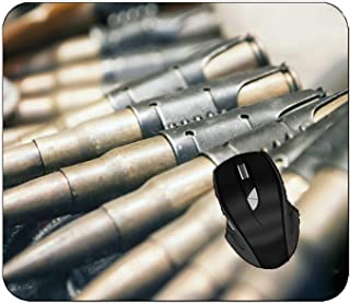 Office Mouse Pad Weapon Bullet Non-Slip Keyboard Mouse Mat