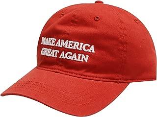 Unisex Donald Trump Make America Great Again Baseball Cap Red