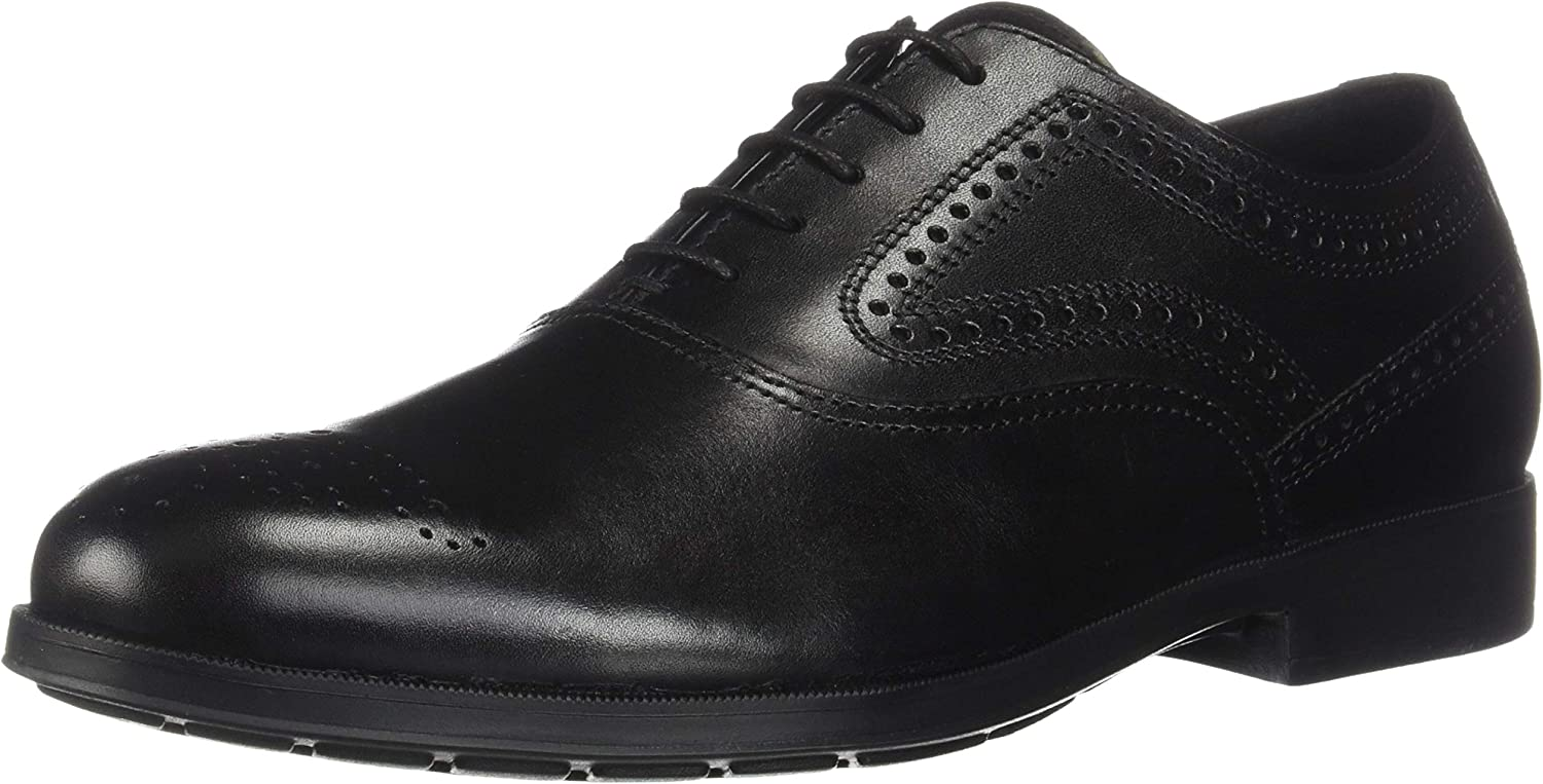 Geox Mens Hilstone 2Fit A Leather Oxford