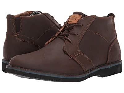 Nunn Bush Barklay Plain Toe Chukka (Brown Crazy Horse) Men