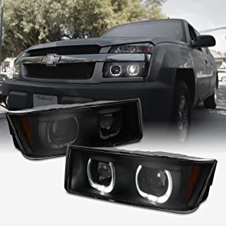 Best halo headlights for 2003 chevy avalanche with body cladding Reviews