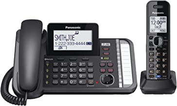 Panasonic KX-TG9581B , 2 -Line Corded/Cordless Expandable Link2Cell Telephone System With 1-Handset (Renewed) photo