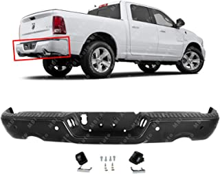 For 2009-2018 Dodge Ram 1500 10-12 Ram 2500 3500 Truck Pickup Complete Chrome Steel Rear Step Bumper Assembly ACANII