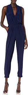 Laundry by Shelli Segal Womens HP03K87 Matte Jersey Athleisure Jumpsuit Sleeveless Casual Dress